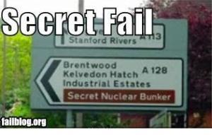 Brentwood has a secret bunker?