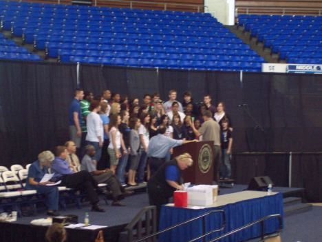 Choraliers Rehearse